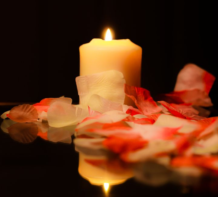 Candle Reflection - Mike Sinko Photography