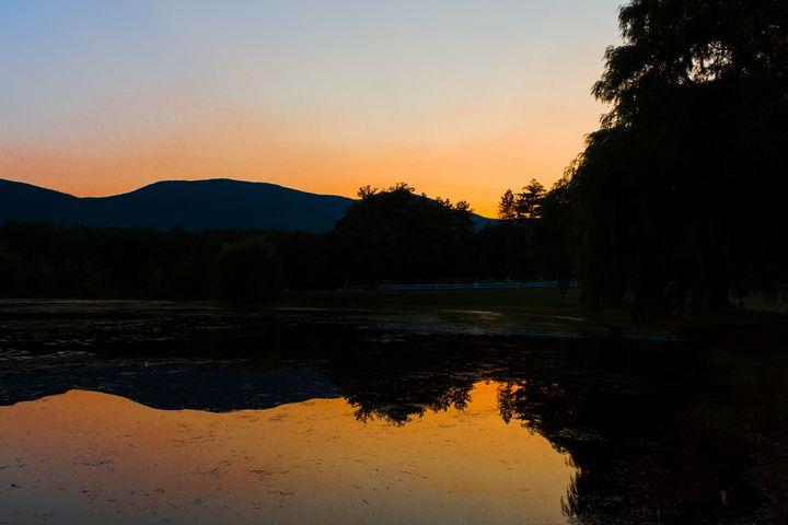 Mountain Sunset - Mike Sinko Photography