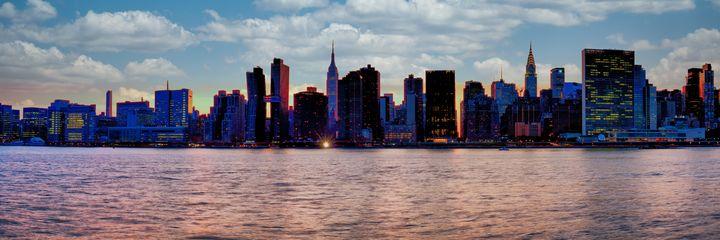 Panorama of Midtown Manhattan - Mike Sinko Photography