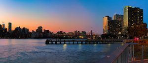 Panorama of Long Island City