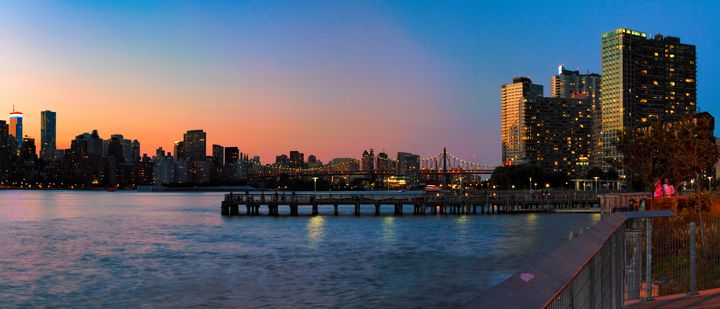 Panorama of Long Island City - Mike Sinko Photography