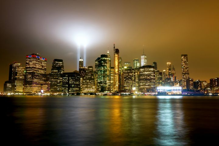 Tribute of Lights 9/11 - Mike Sinko Photography