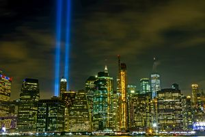 Tribute of Lights 9/11