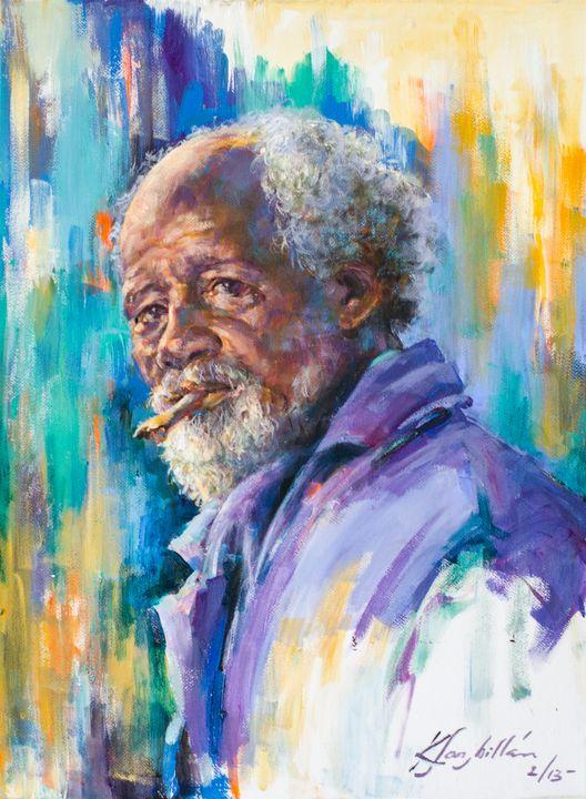 Old Dominican Man: 2013 - KatiaSanMillan.com