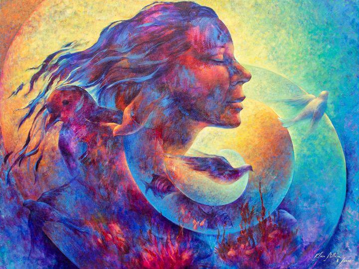 Spiral Dreams: Acrylic canvas, 2013 - KatiaSanMillan.com