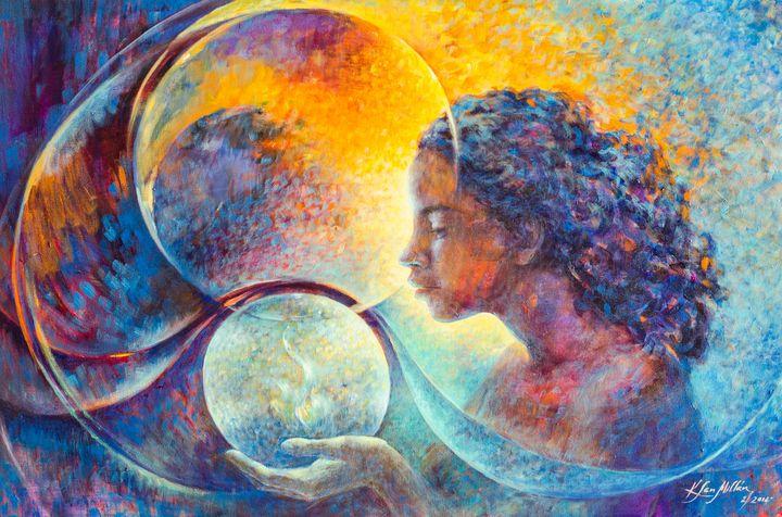 Fascination: Acrylic on canvas, 2016 - KatiaSanMillan.com