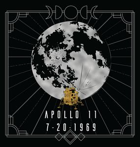 Art Deco Apollo 11 Moon