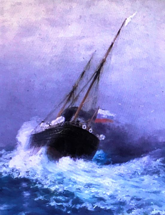 The Salvage II - Paintings by Frederick Lyle Thrauthemburg Morris