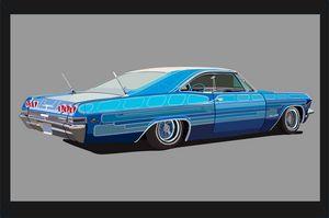 Chevrolet Impala 65 Lowrider - Иллюстрации