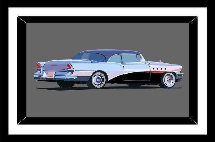 Buick Roadmaster  1955 - Иллюстрации