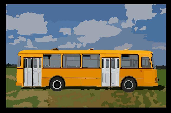 ЛИАЗ-677 - Иллюстрации