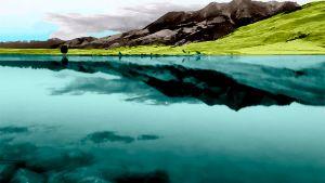 Природа, холмы - Иллюстрации