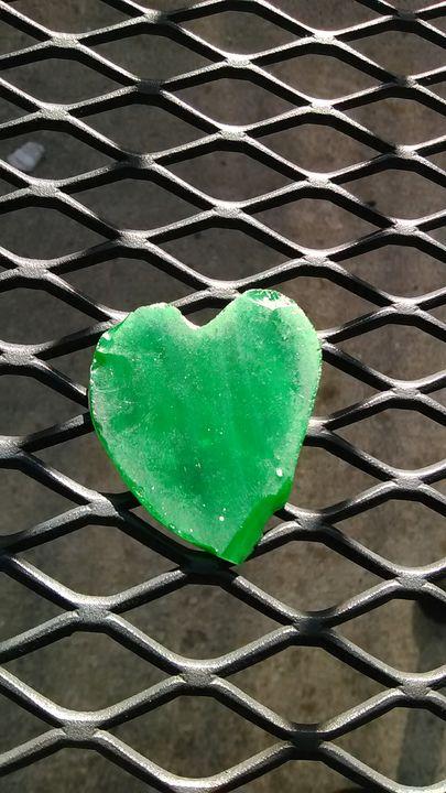Green heart - Double Topaz