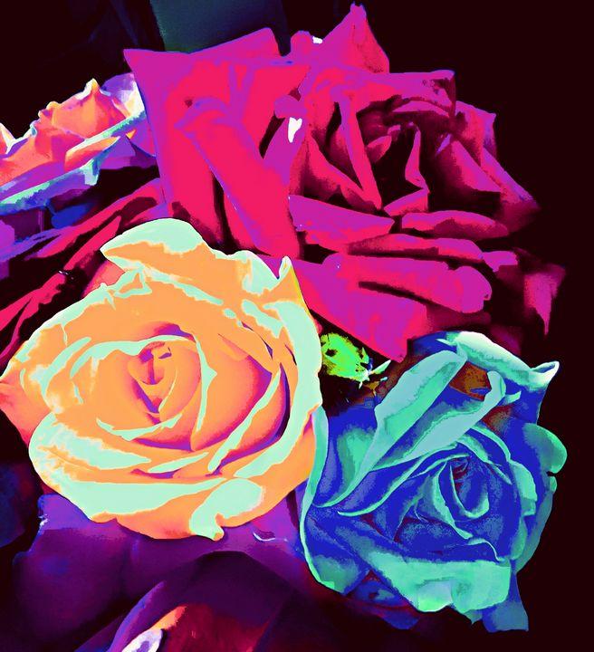 Roses - Double Topaz