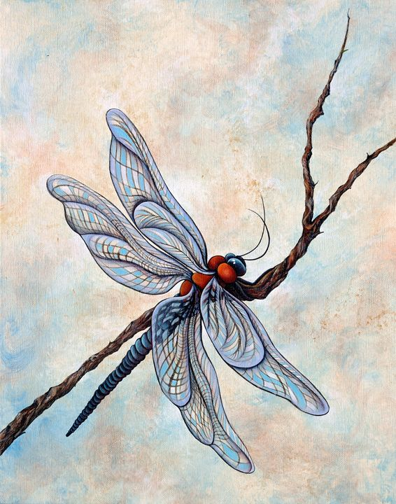 """""""Emperor Dragonfly"""" - Somewhere In Time Paint Mixers"""