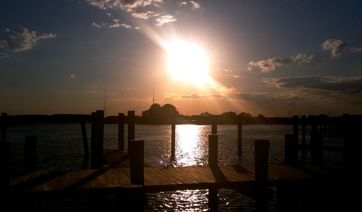 """""""Sunset at Kent Island, MD"""" - Somewhere In Time Paint Mixers"""