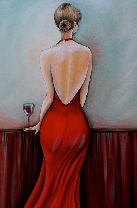 """Lady In Red"" - Somewhere In Time Paint Mixers"