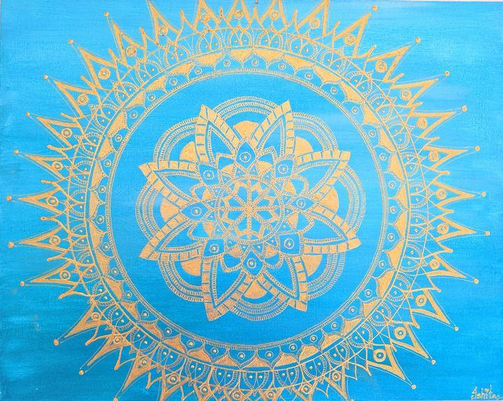 Mandala Circle - Art by Ishh