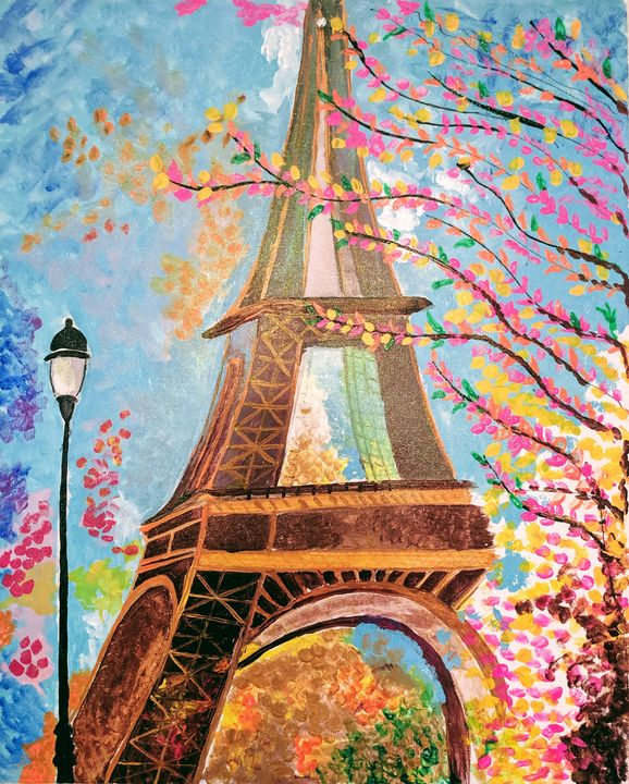"""Eiffel"" by Dots - Art by Ishh"