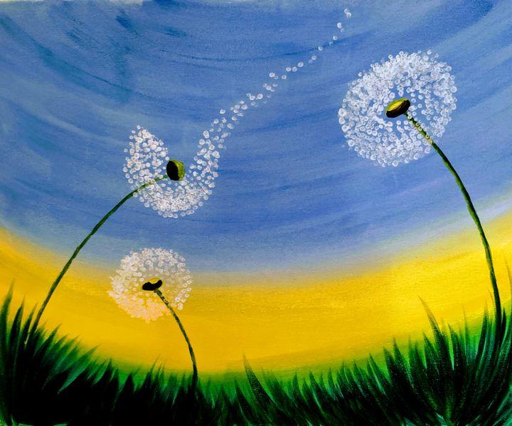 Dandelion - Art by Ishh