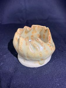 Folded Yellow - L.Dove Pottery