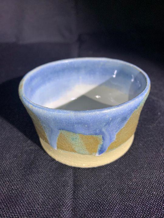 Blue Vessel - L.Dove Pottery