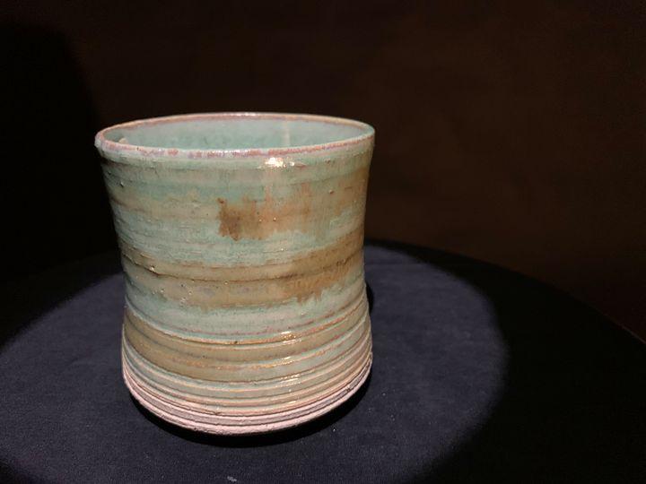 Green Striped - L.Dove Pottery