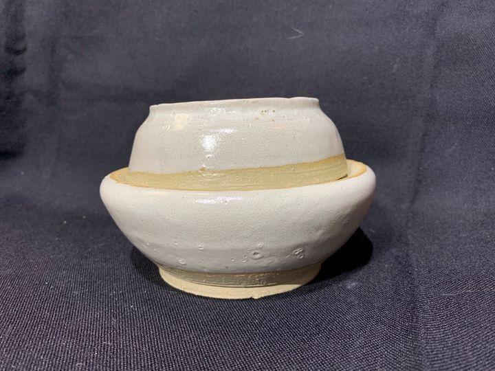White Jar - L.Dove Pottery