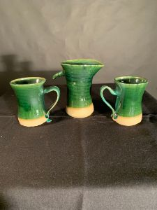 Traditional Pitcher & Cup Set