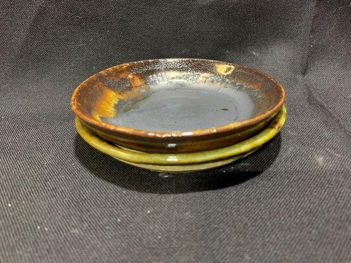 Small Plates-Set of 2 - L.Dove Pottery