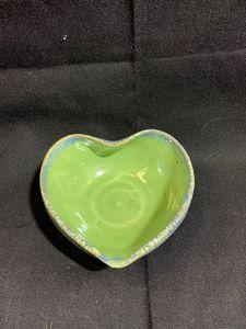 Green heart bowl