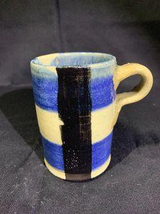 Striped Cup - L.Dove Pottery