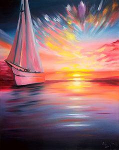 парусное судно - Картины для души