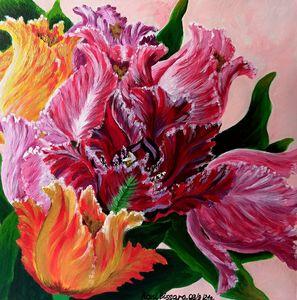 кудрявый тюльпан - Картины для души