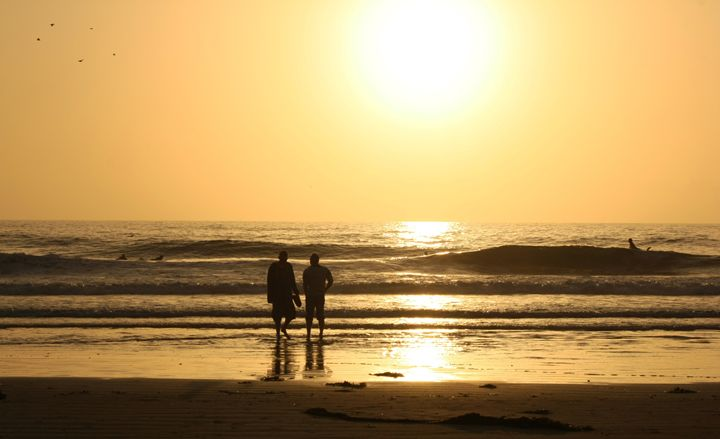Serenity - A beach sunset - Nancee