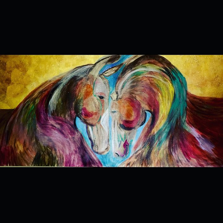 Horses In Love - Sima Fisher