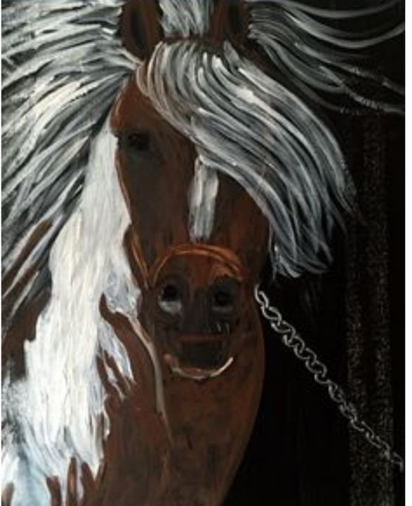 Chained Horse - Sima Fisher