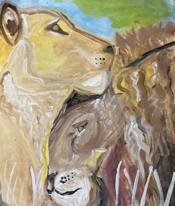 Lions In Love - Sima Fisher