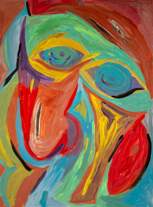 Man with A large Nose - Sima Fisher