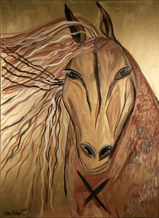 Single Horse - Sima Fisher