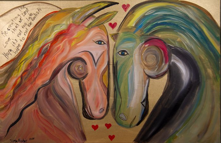 Horses In Love- Recreated - Sima Fisher