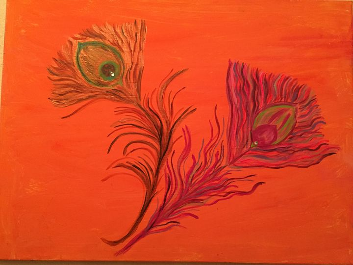 Peacock Feathers - Sima Fisher