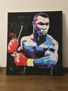 Mike Tyson punch - Belfort art