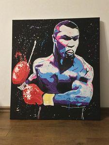 Mike Tyson punch - Belfort art