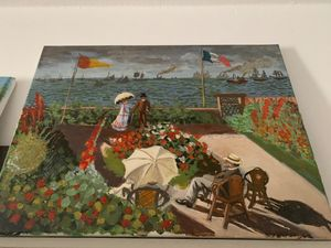 Garden at Sainte-Adresse - Belfort art