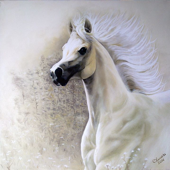 White Horse - LOVE-ART