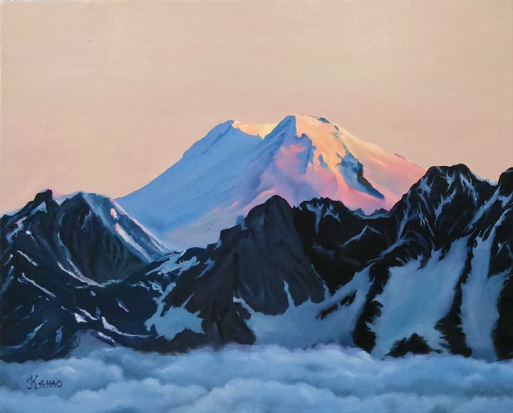 Caucasus Mountains - LOVE-ART