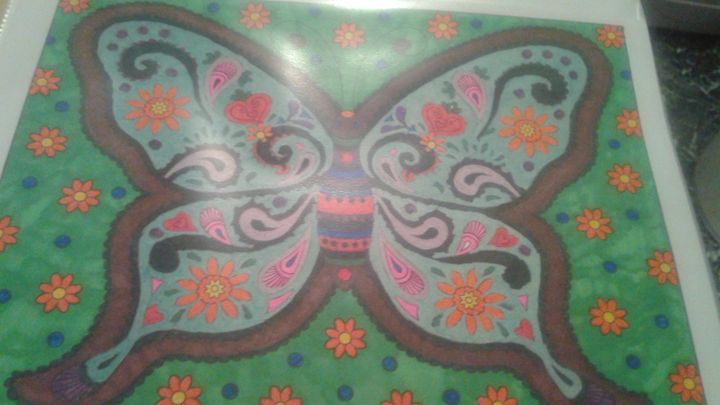HandMade Butterfly Picture - Girls On Design
