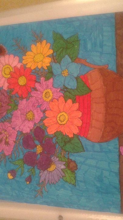 Handmade Flower picture - Girls On Design