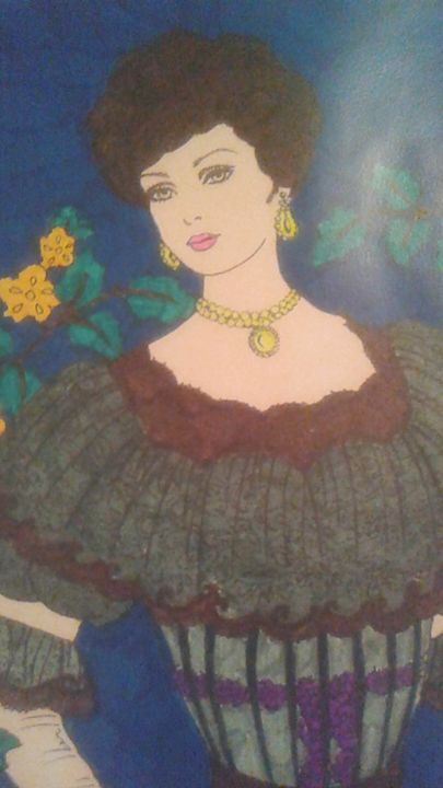 handmade Lady picture - Girls On Design